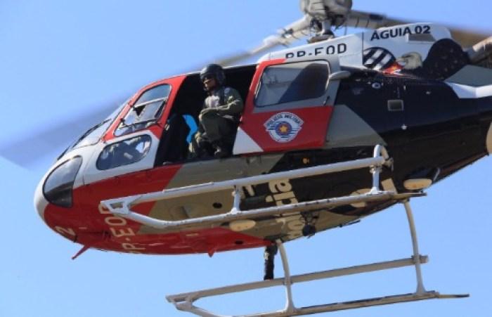 FOTO: Ilustrativa | Helicóptero Água da PM
