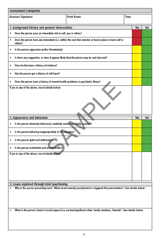 Risk assessment template mental health 28 images mental health risk assessment template mental health mental health in ed emcage pronofoot35fo Gallery