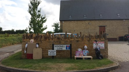 emc's collection of scarecrows