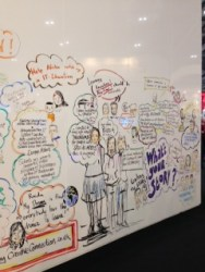 We saw the Bett Arena illustrations. Some of them were absolutely brilliant and inspirational.