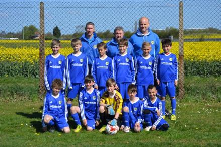 AFC Oakley Under 10s Crusaders 2014-15 players and coaches