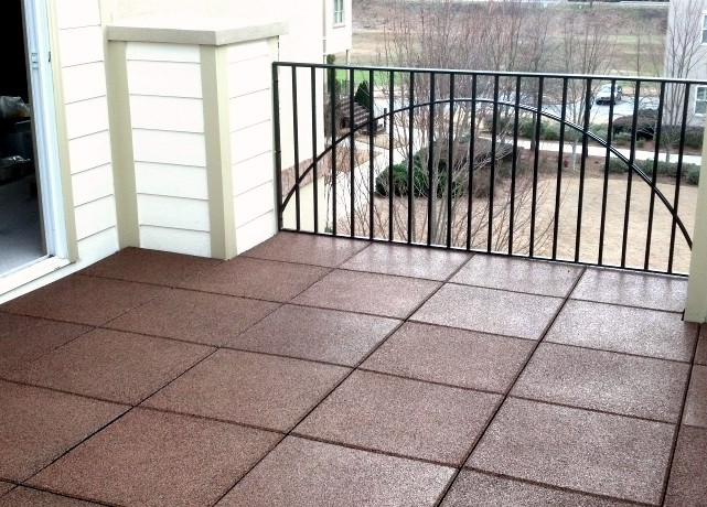 emc rubber roof deck