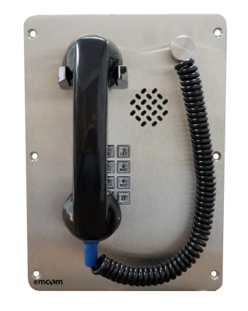 Handset telephone with flexible cord