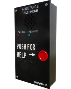 assistance phone with call indicators