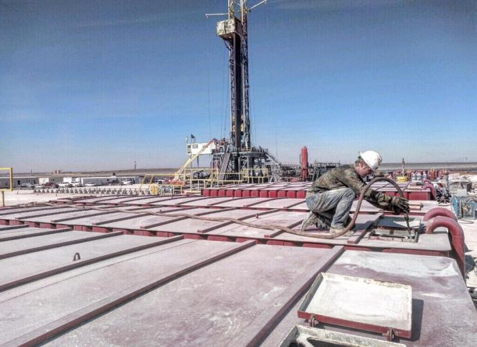 cleaning frac tanks in west texas