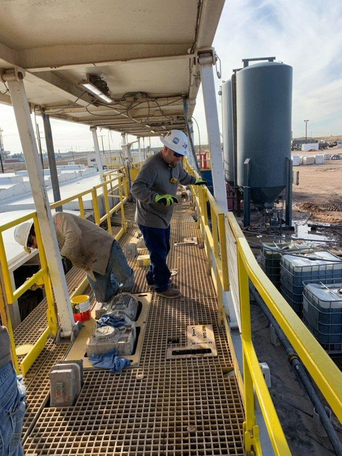 roustabout service in the permian