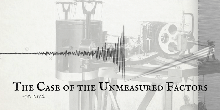 The Case of the Unmeasured Factors (2)