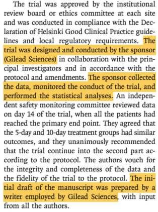 Remdesivir Gilead