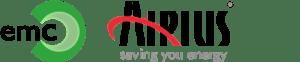 EMC & Airius logo