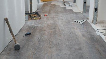 vinyl plank flooring installation