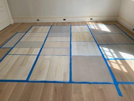 low-VOC-flooring-finish-samples