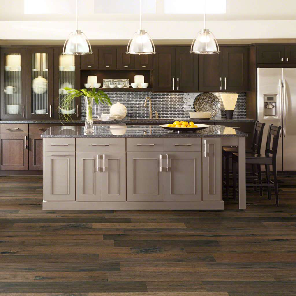 kitchen engineered wood floor