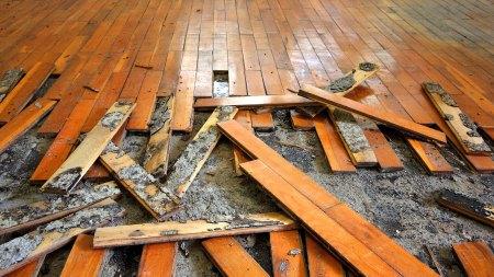 hardwood floor repairs