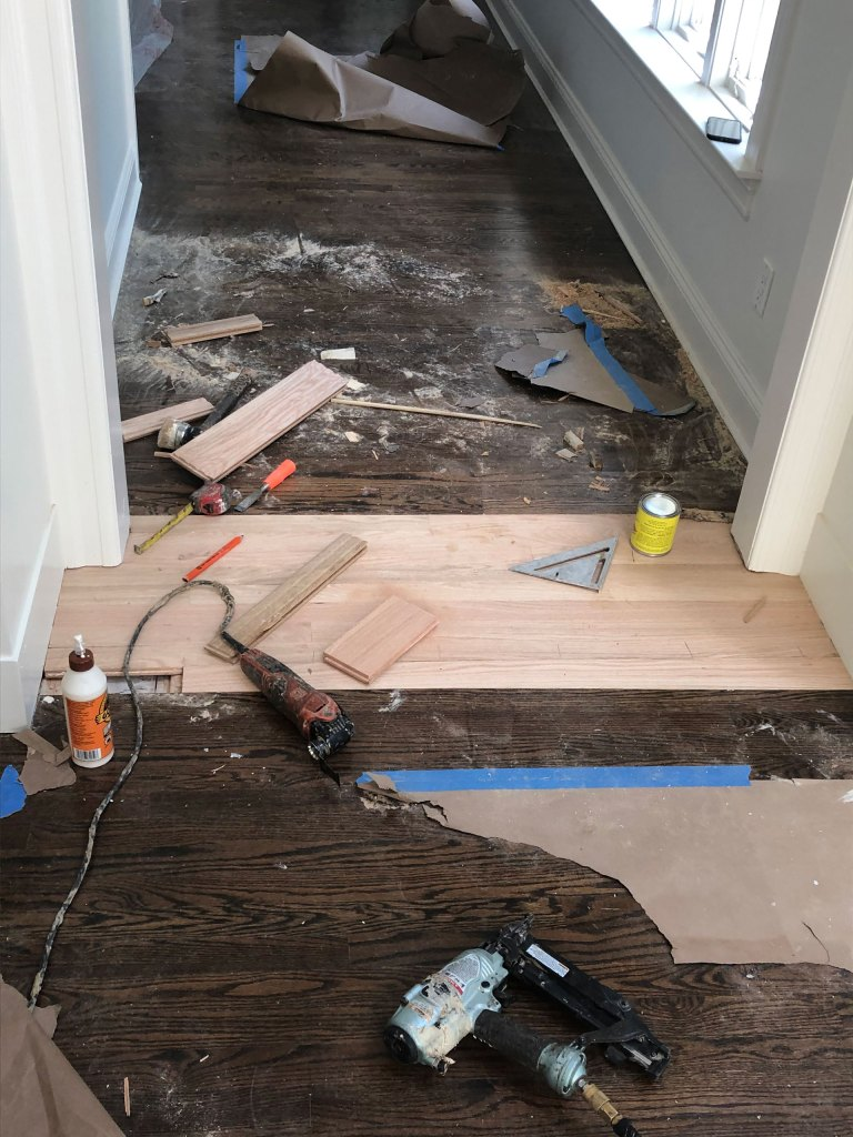 Flooring repair in Sands Point after