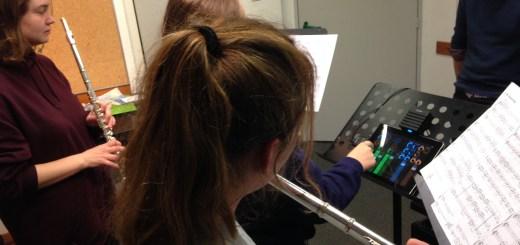 l'Atelier de Flute Traversière en répétition