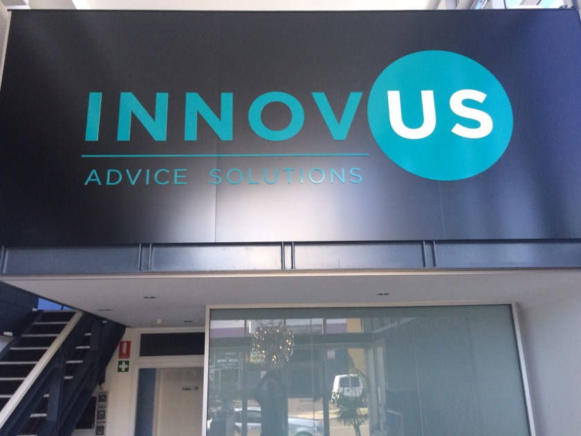 innovus advice financial planner wollongong logo design website design parralax website hostgeek emma wright em designs parramatta branding graphic designer