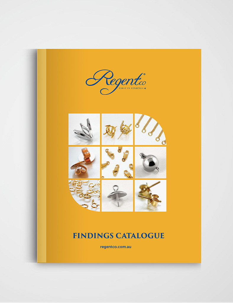 Regentco findings catalogue pallion palloys graphic design emma wright