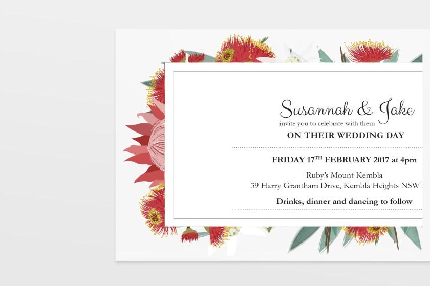 Native American Wedding Invitations: CUSTOM ILLUSTRATED WEDDING INVITATIONS
