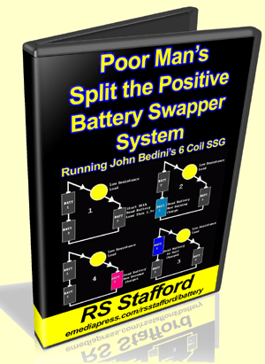 Poor Man's Split the Positive Battery Swapper System by RS Stafford