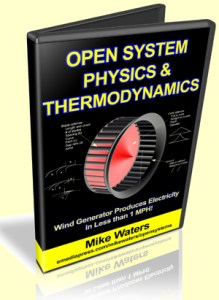 Open System Physics & Thermodynamics by Mike Waters