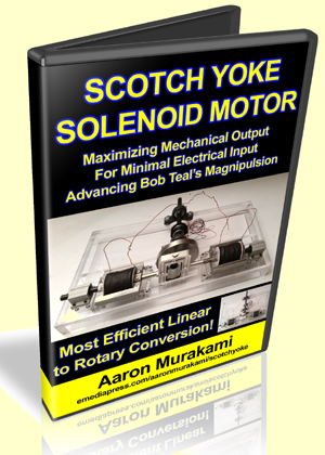 Scotch Yoke Solenoid Motor by Aaron Murakami