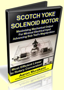 Scotch Yoke Solenoid Motor by Aaron Murakami