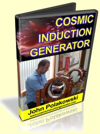 Cosmic Induction Generator