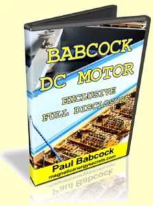 Babcock DC Motor Full Disclosure