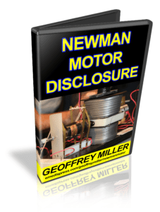 Joseph Newman Motor Disclosure by Geoffrey Miller
