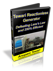Tewari Reactionless Generator