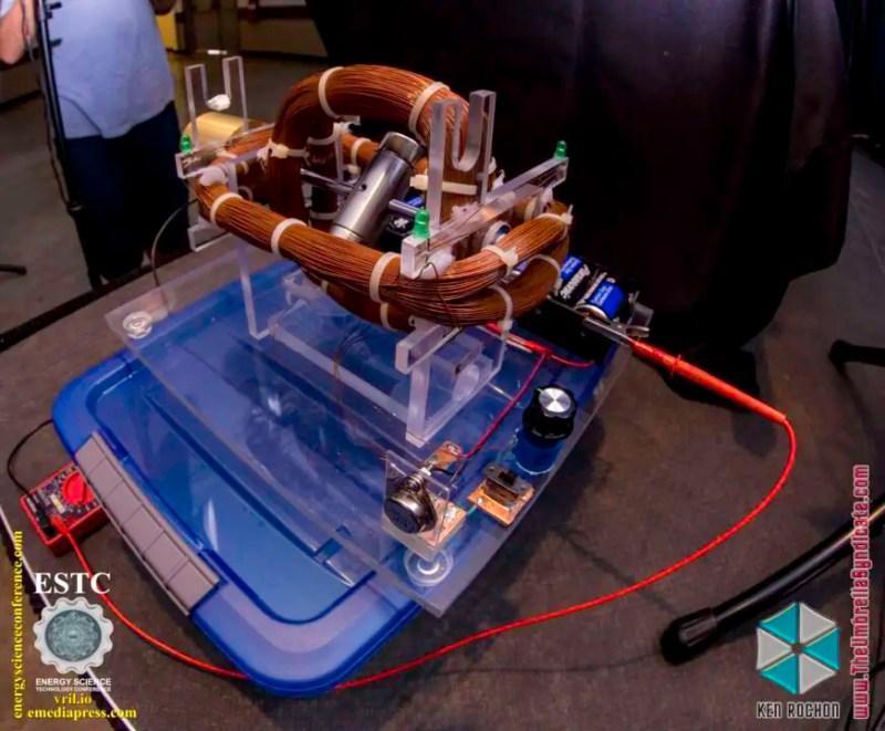 Bedini's Gravity Wave Space Flux Motor 5