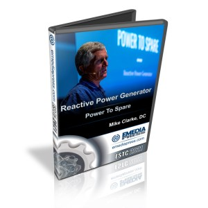 Reactive Power Generator - Power To Spare by Mike Clarke, DC