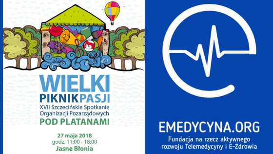 Fundacja e-medycyna Wielki Piknik Pasji Pod Platanami 2018