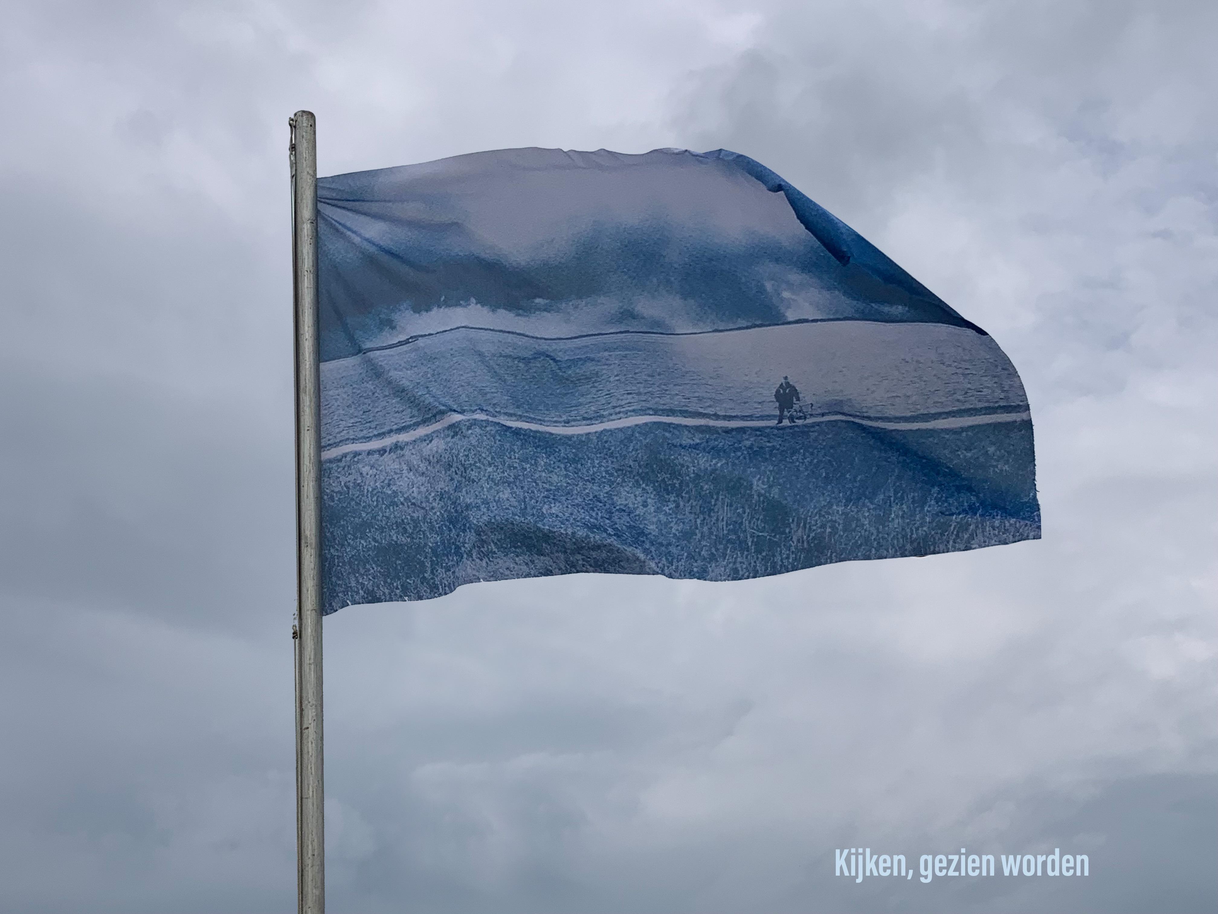 Kijken, gezien worden- 03-07-21, vlag