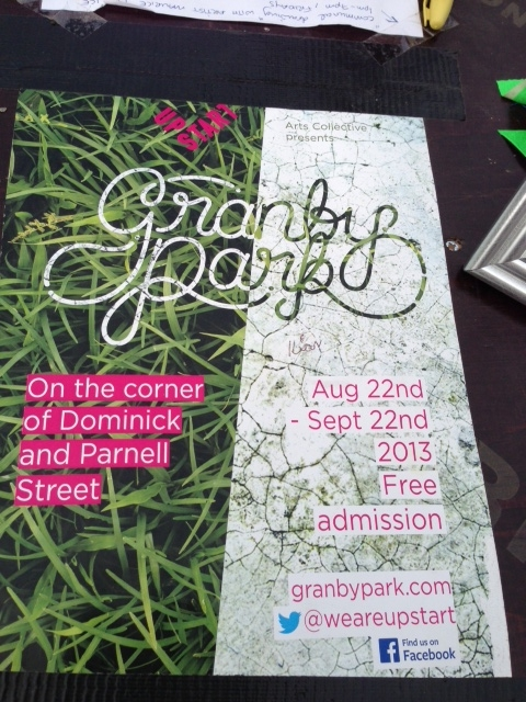 granby park end august and early sept programme