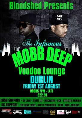 Mobb Deep and opening acts live performances