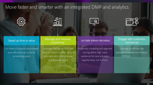 Unlocking the value in data: move faster and smarter with an integrated DMP and Analytics