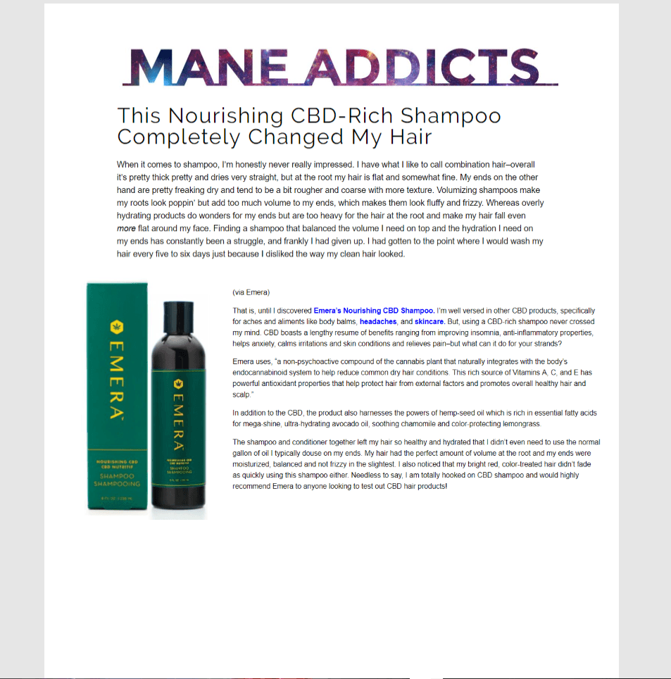 In the News | Mane Addicts