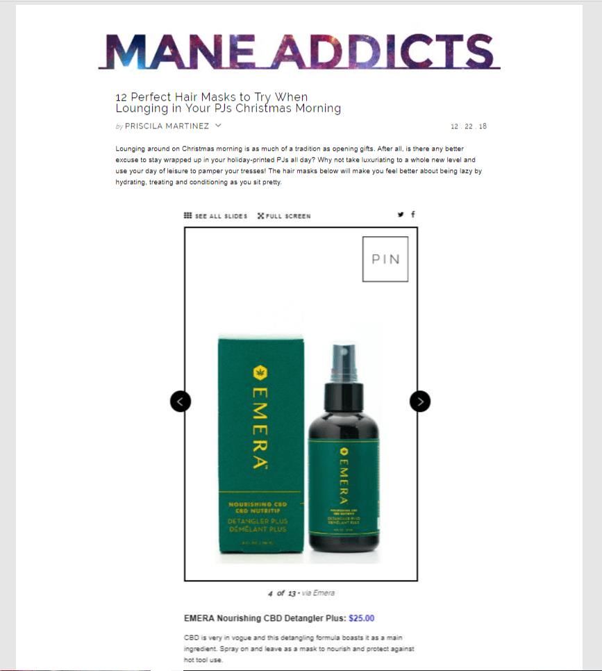Mane Addicts   EMERA Hair Care