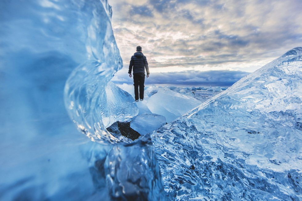 dreamstime blue ice adventure - image