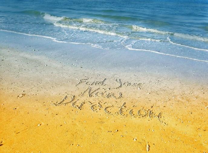 beach words - image