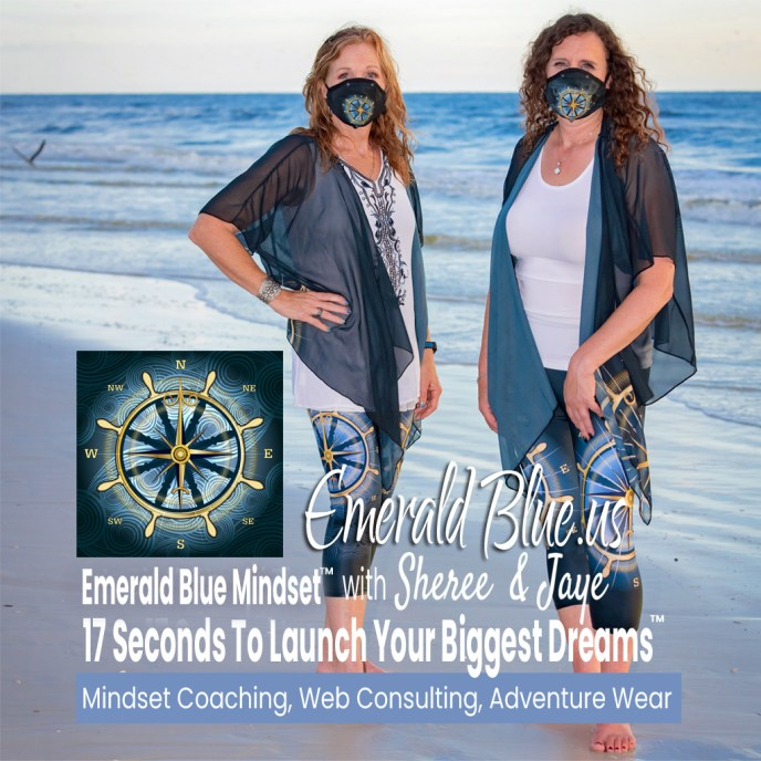 sheree and jay in compass rose active wear - image