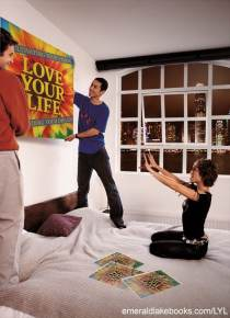 hanging poster bedroom -Love Your Life