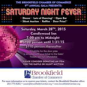 Brookfield Chamber Gala flyer