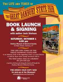 Book Launch and Signing flyer for Jack Stetson