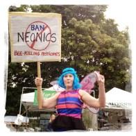 Protesting GMOs.