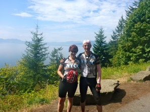 The two of us, on Chuckanut