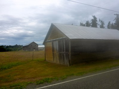 One of many appealing farm buildings