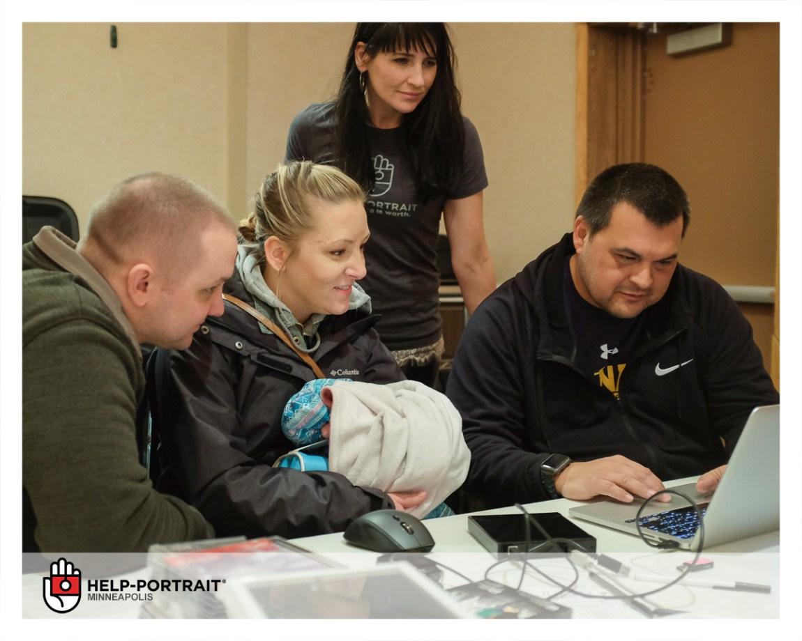 Wounded Warrior Project, Help-Portrait Twin Cities, Volunteers, Active Military Members, Veterans