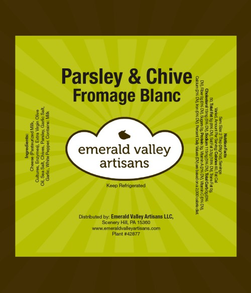 Parsley-Chive-Label
